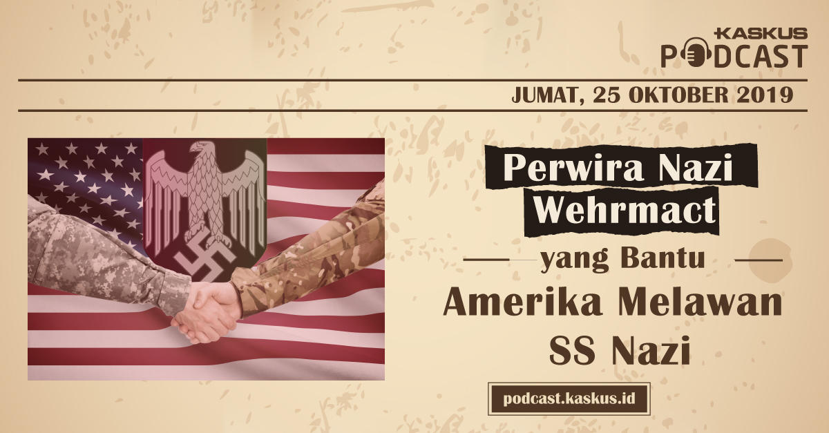 Perwira Nazi Wehrmact Yang Bantu Pasukan Amerika Melawan SS Nazi