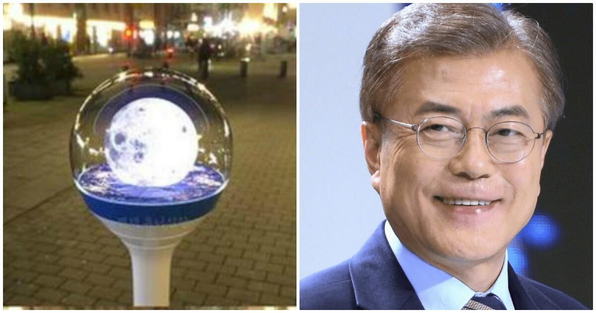 Presiden Korea Selatan Juga Punya Lightstick Loh