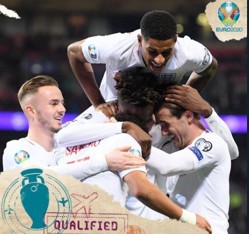 Hasil Lengkap Kualifikasi Euro 2020: Prancis, Inggris, Turki, dan Rep Ceko Lolos