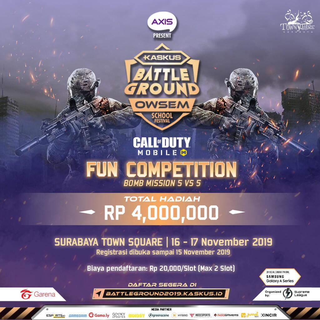 Ayo ikuti 5 Kompetisi Mabar Game di AXIS KASKUS Battleground Surabaya