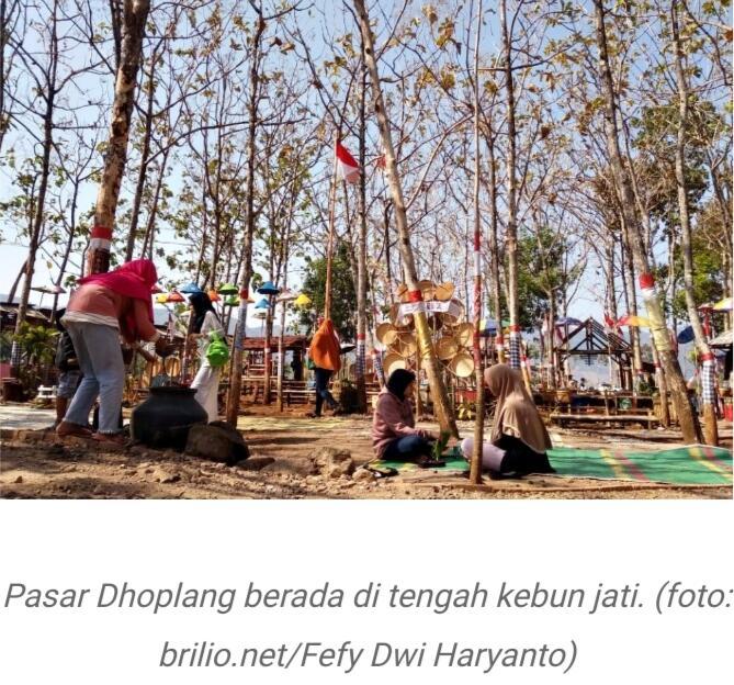 Pasar Dhoplang, Inspirasi Wisata Ramah Lingkungan!