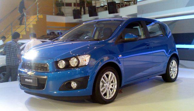 the all new chevrolet aveo/sonic