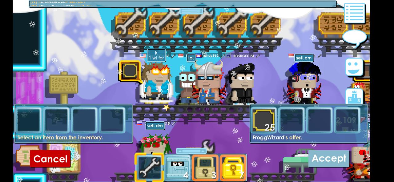 Growtopia Game Sandbox Open World Yang Killing Time Banget Kaskus