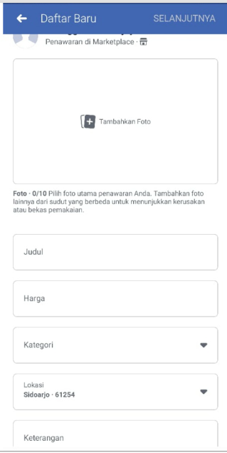 Cara Dropship di Facebook Tanpa Modal (Transaksi aman, Pembeli bayar lewat kurir)