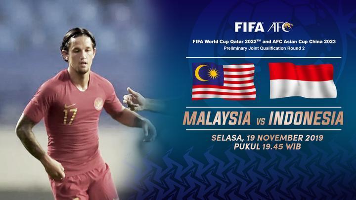 Skuad Garuda Punya Misi Balas Dendam Di Partai Malaysia vs Indonesia