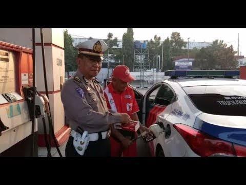 Misteri Terpecahkan Inilah Foto Mobil Polisi Sampai Kereta Api Saat Isi Bahan Bakar Kaskus