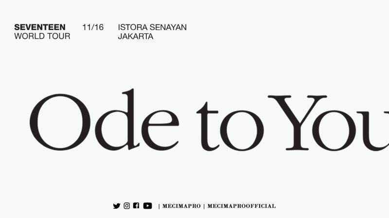 Terbius Pesona dan Talenta Seventeen di Konser Ode To You Jakarta