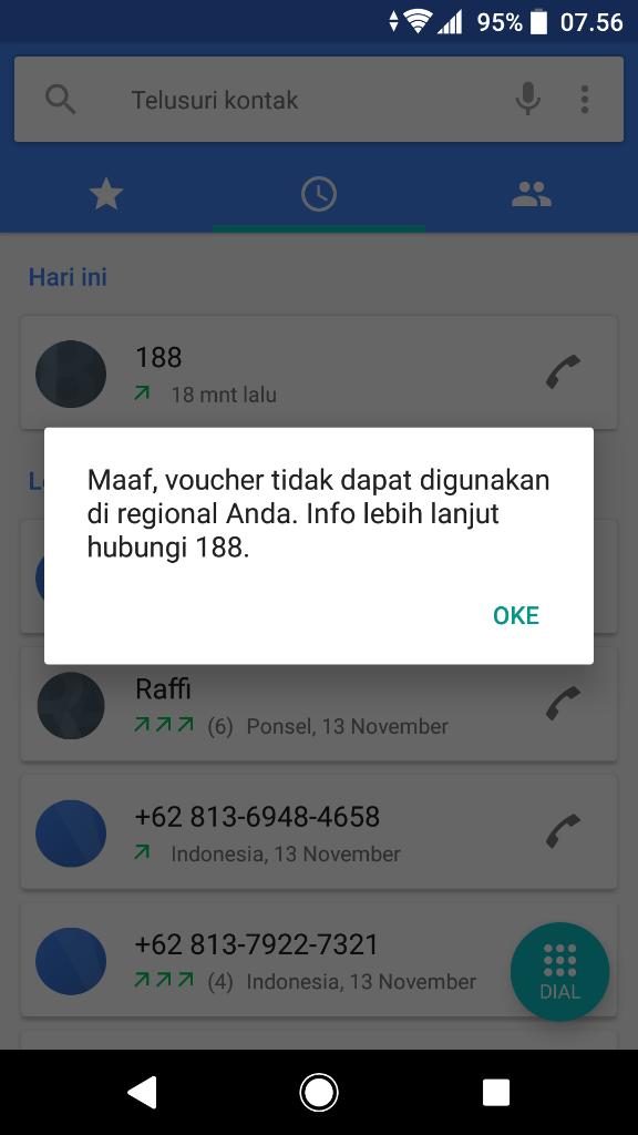 Maaf Voucher Tidak Dapat Digunakan Di Regional Anda Silahkan Hubungi 188 Kaskus