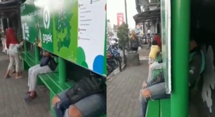 Viral Halte Anti Mainstream, Netizen; Cocok Buat Ngumpet dari Mantan!