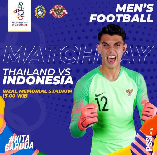 Prakiraan Formasi Timnas Indonesia vs Thailand di SEA Games 2019
