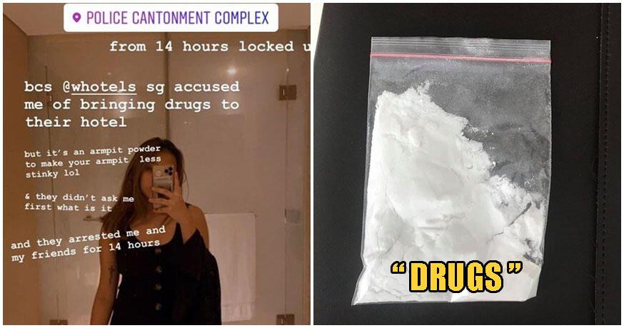 Apes Banget! Wanita Ini Bawa Serbuk Tawas Buat Ketiak ke Hotel,Malah Disangka Narkoba
