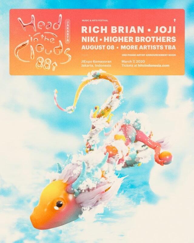 Tiket Head In The Clouds Indonesia Dijual Besok, Ini yang Harus Kamu Siapkan!