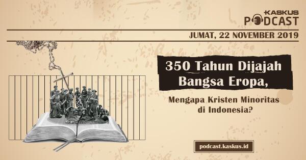 350 Tahun Dijajah Bangsa Eropa, Mengapa Kristen Minoritas di Indonesia?