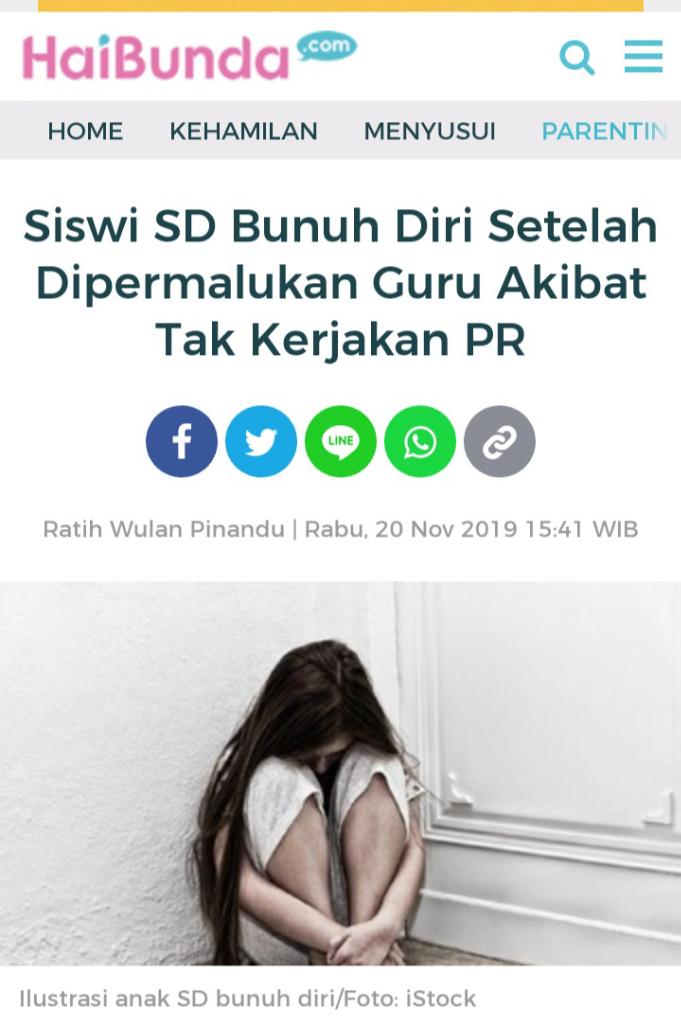 Benarkah Tiap Satu Jam, Satu Orang Indonesia Bunuh Diri, Apa Saja Alasannya?