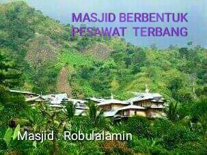 Kampung Cibeas Penuh Ke Unikan, Masjid Berbentuk Pesawat Dan Rumah Berbentuk Perahu