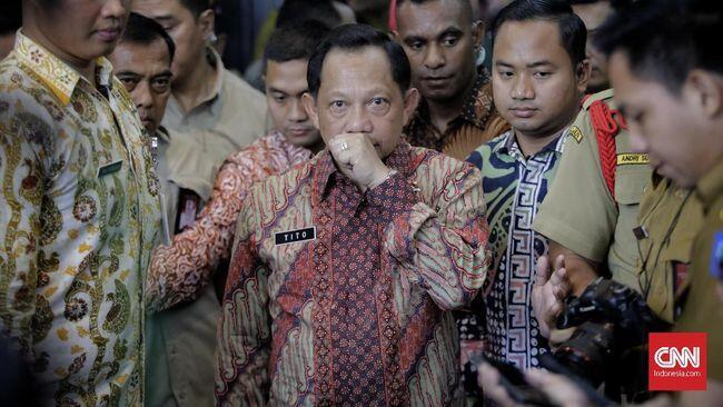 Tito Karnavian Sebut Izin FPI Terkendala Visi NKRI Bersyariah
