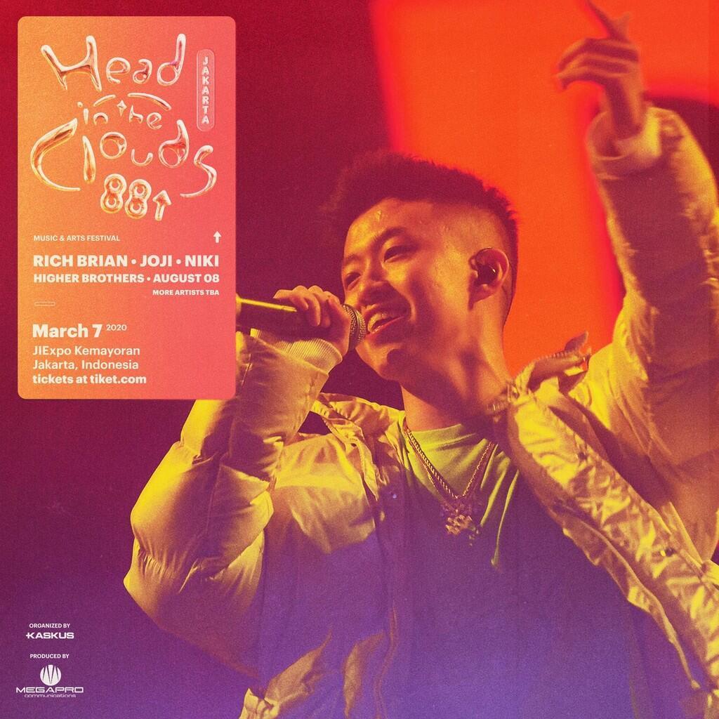 Tiket Head In The Clouds Indonesia Resmi Dijual! Serbu Sebelum Kehabisan!