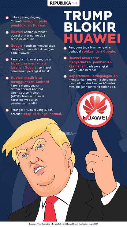 Apa Kabar Huawei !! Kenapa Trump Membencimu ?