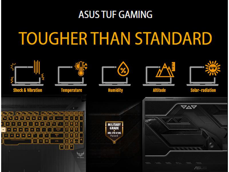 Asus TUF Gaming FX505GD-I5501T, Laptop Harga Terjangkau, Game Berat Lancar Jaya
