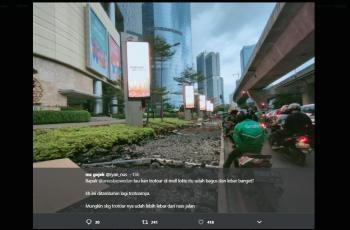 Jadi Tamparan untuk Anies, Driver Ojol Ungkap Penyebab Jalan Satrio Macet
