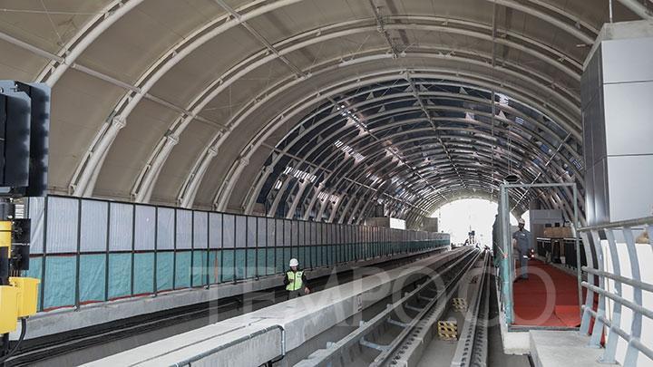 Mulai Hari Ini LRT Jakarta Berlaku Komersial, Tarifnya Rp 5.000