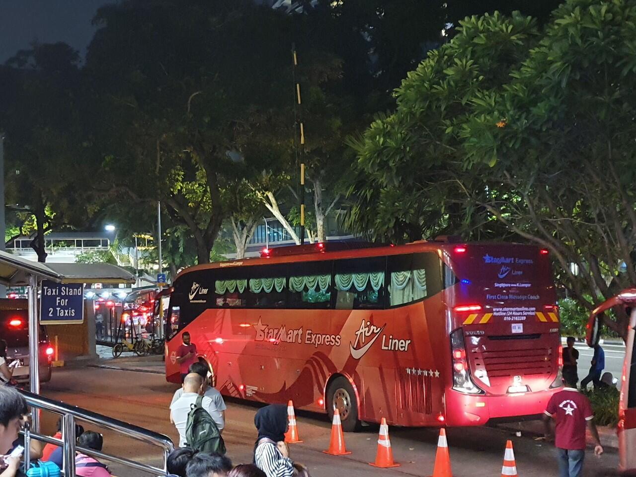 Pertama Kali Naik Bus dari Singapura ke Kuala Lumpur, Enak Kok!