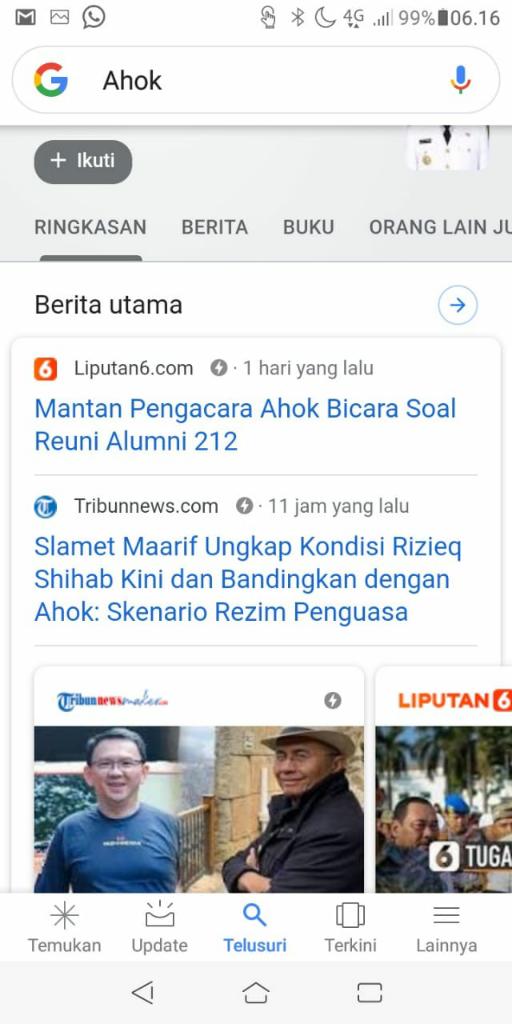 Ingin Menghindari Artikel Trib*n di Halaman Pertama Google? Sini!