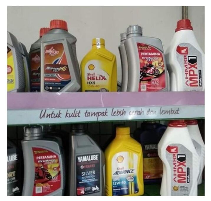 6 Kesalahan Penempatan Barang Paling Konyol di Supermarket, Ada Oli Di Rak Kosmestik!