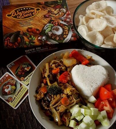 Mengenalkan Kuliner Jawa Timur-an ke Penjuru Dunia dengan Boardgame Waroong Wars