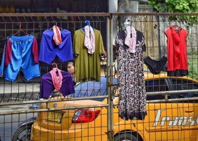 Foto-foto Lucu Orang Negara +62 Jemuran Pakaian, Bikin Gagal Fokus! CD nya Terbang?