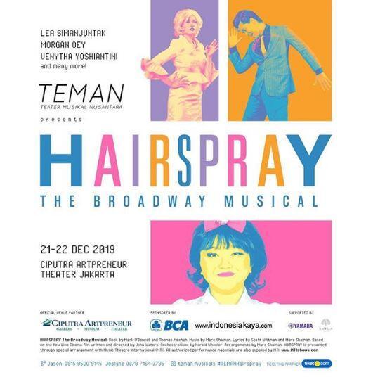 Teater Musikal Nusantara (TEMAN) Persembahkan Hairspray – The Broadway Musical