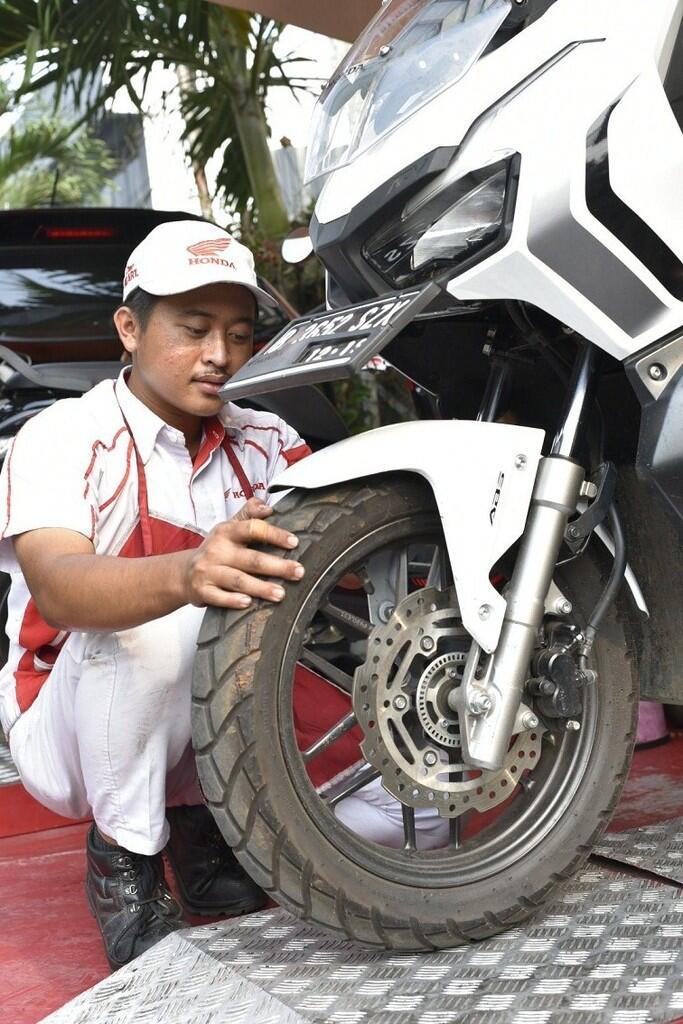 Pengen Motor Tetap Nyaman Dikendarai, Tipsnya Cuma Perhatikan 3 Bagian Ini