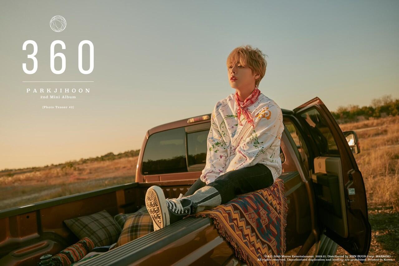 """Park Jihoon Semakin Dewasa di Lagu Baru """"360"""""""
