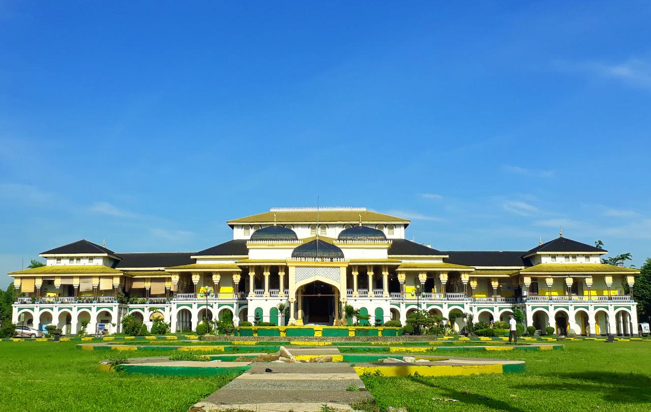 Sejarah Tempat Inspiratif Dari Sebuah Istana Sultan Deli, Sumatera Utara.
