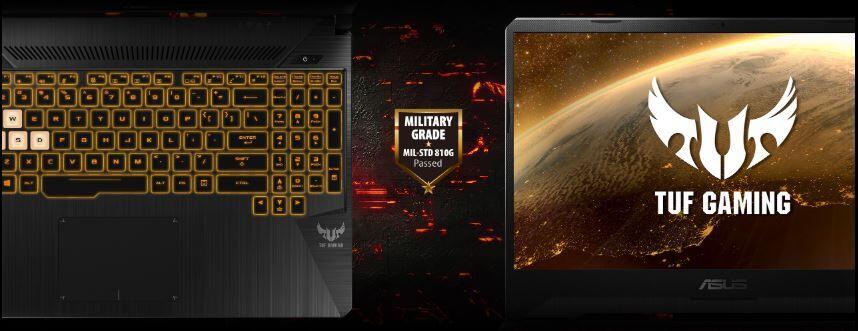 Asus TUF Gamming FX505DY laptop tangguh pelahap game berat