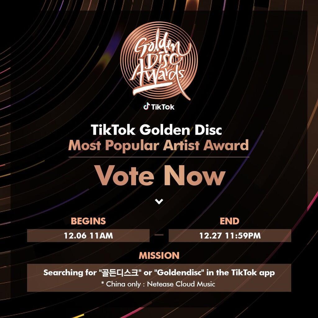 Ini Daftar Nominasi 34th Golden Disc Awards