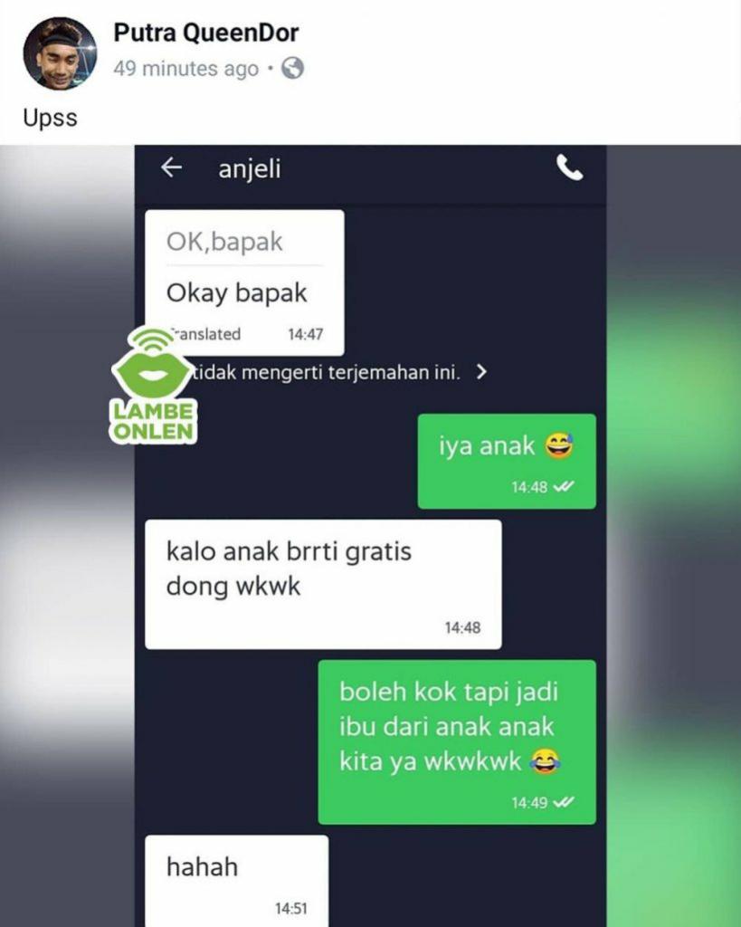 Chat Lucu Ojek Online Nurutin Kata Pelanggan, Kocak!
