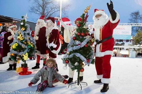 Ga Cuma Atlet, Santa Claus pun Juga ada Olimpiadenya!!