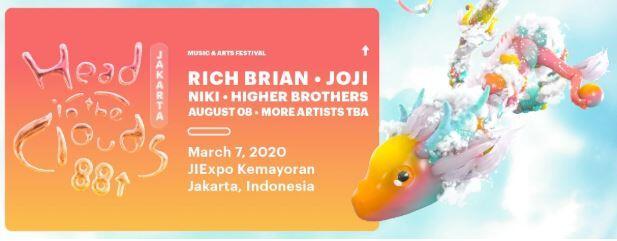 Line Up Fase 2 Head In The Clouds Jakarta, Beneran Ada G-Dragon?