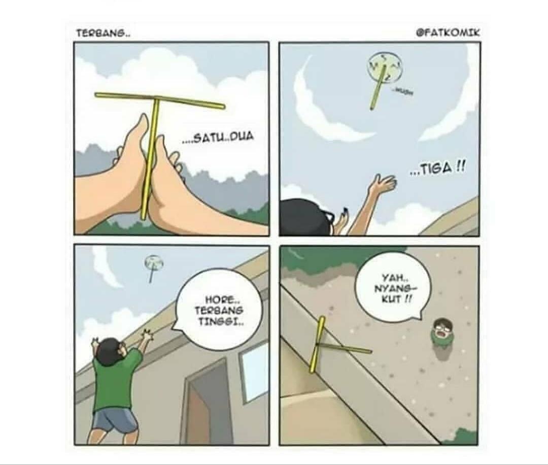 Komik Lucu Tentang Balada Masa Kecil, Ada yang Rindu? Gabung Sini, Gan!