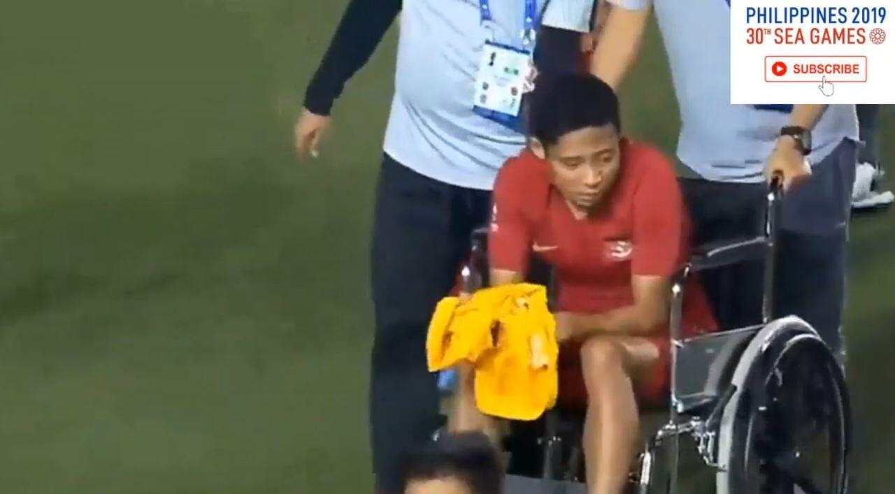 Pemain Vietnam Cederai Evan Dimas di Final SEA Games, Taktik Sengaja?