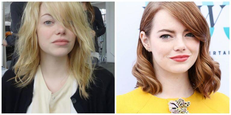 Beginilah Wajah Artis Hollywood Tanpa Make Up, Dari Lady Gaga Sampai Emma Watson
