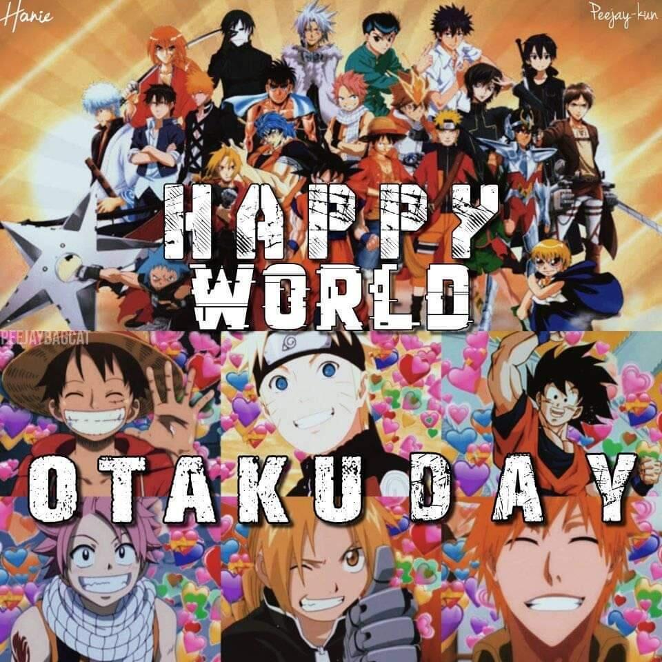 Selamat hari otaku sedunia