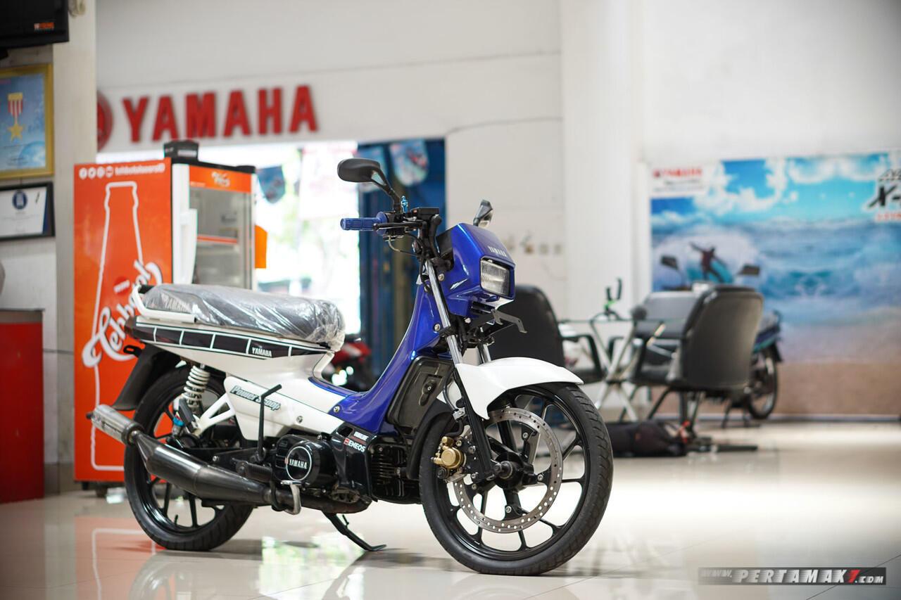 Yamaha Champ Masih Mulus, Jok Terbungkus Plastik Ada Di Dealer Yamaha