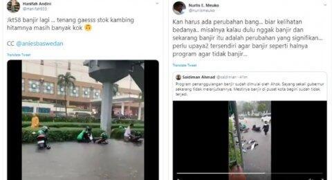 Jakarta Banjir Lagi, Warganet Sindir Anies: Stok Kambing Hitam Masih Banyak