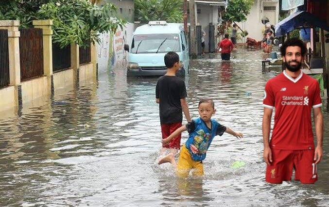 [MEME] Lagi Dilanda Banjir, Eh Malah Si Salah yang Viral!