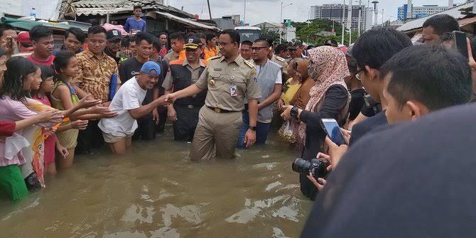 Konsep Penanganan Banjir Ibukota Ala Anies, Natularisasi Atau Halusinasi