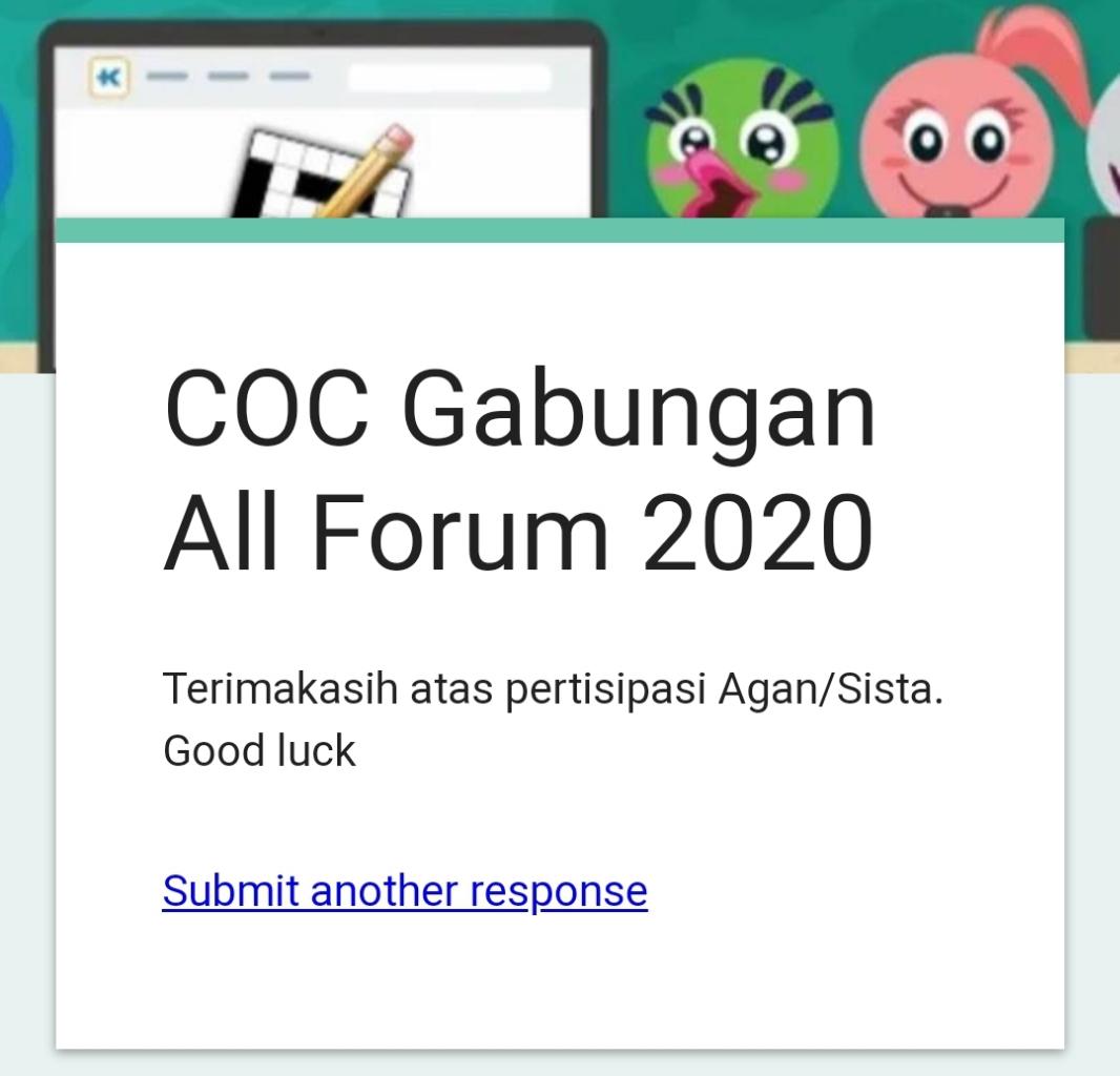 COC Gabungan Sub Forum Kaskus 2020