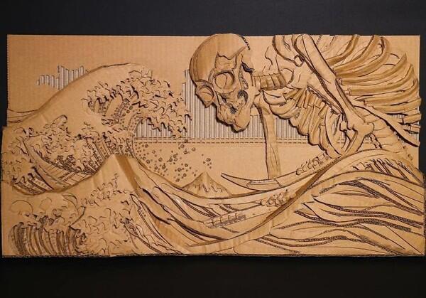 AMAZING! LUAR BIASA! Ini 6 Karya Seni Hasil Seniman Jepang Yang Menakjubkan