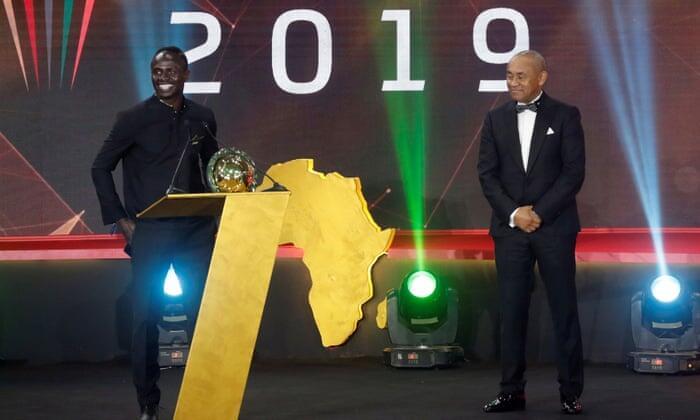 Sadio Mane Sabet Penghargaan Pemain Terbaik Afrika 2019
